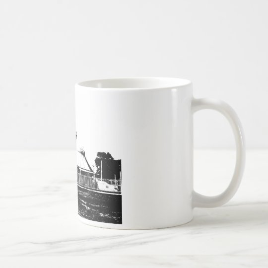 Black and White Entertainment World Coffee Mug