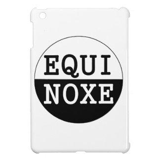 black and white equinox iPad mini cover