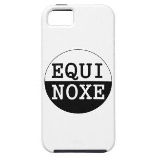 black and white equinox iPhone SE/5/5s case