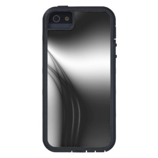 Black and White Estuary iPhone 5 Cover