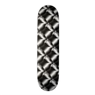 Black and White Estuary Skate Deck