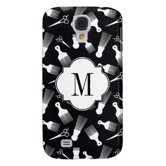 Black and white ethnic art galaxy s4 cover