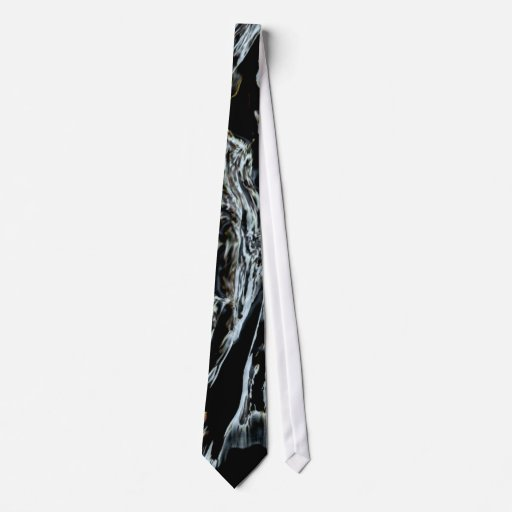 BLACK AND WHITE EXPRESSIONS TIE