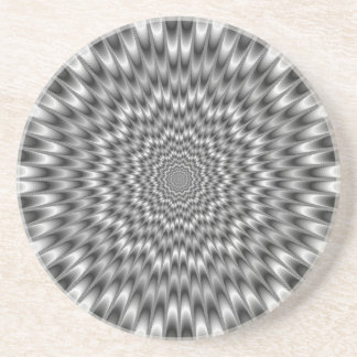 Black and White Eye Bender Coaster