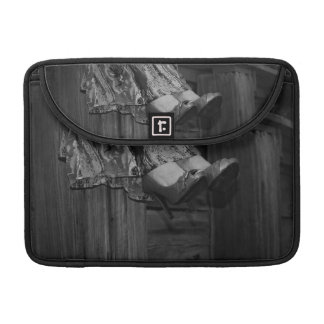 Black and White Fashion Sleeve For MacBook Pro