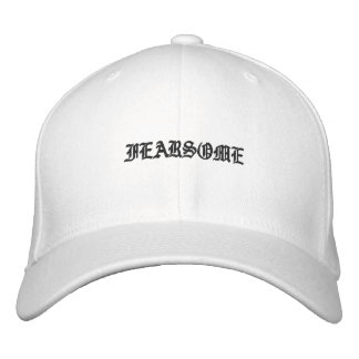 Black and White Fearsome Mens Hat Ole English