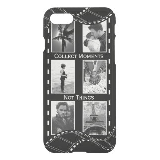 Black and White Film Reel iPhone 7 Case