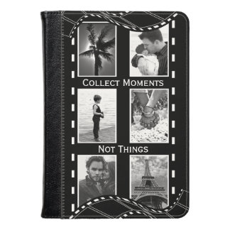Black and White Film Reel Kindle Case