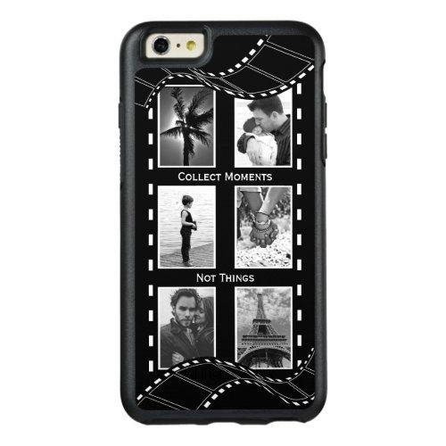 Black and White Film Reel Phone Case