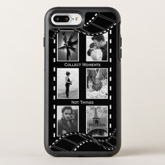 Black and White Film Reel OtterBox Symmetry iPhone 8 Plus/7 Plus Case