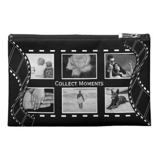 Black and White Film Reel Travel Accessory Bag