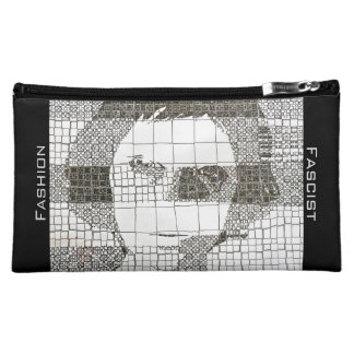 Black-and-white Fine Art Makeup Bag
