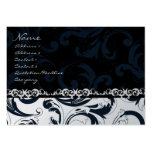Black and White Floral - Business Card