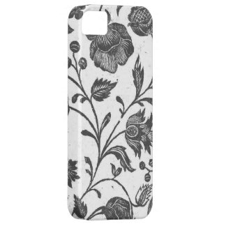 Black and White Floral iPhone Case iPhone 5 Cases
