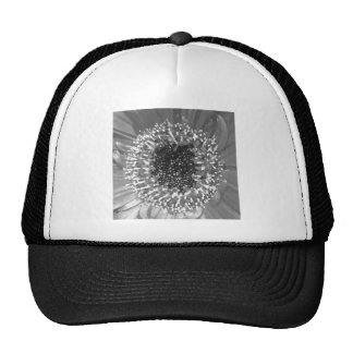 Black And White Floral Photography Trucker Hats
