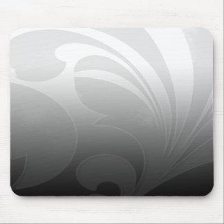 Black and White Flourish Mousepads