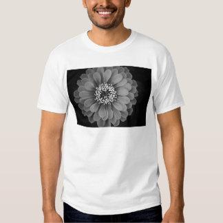Black and White Flower Photo Shirts