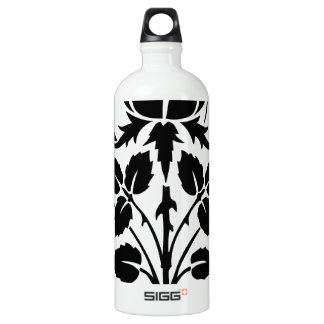 Black and White Flowers SIGG Traveler 1.0L Water Bottle