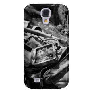 Black and White Fly Vest Samsung Galaxy S4 Case