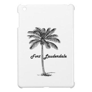 Black and White Fort Lauderdale & Palm design iPad Mini Cases