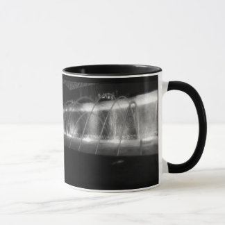 Black and White fountain mug