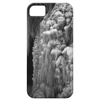 black and white frozen waterfall iPhone SE/5/5s case