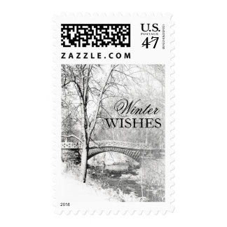 Black and White, Garfield Park, Indianapolis Postage