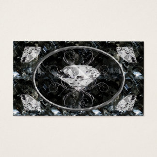 Black and White Gems Business Card
