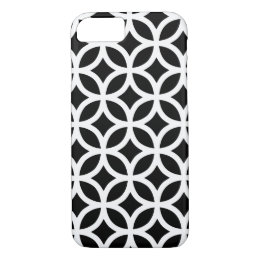 Black and White Geometric iPhone 8/7 Case