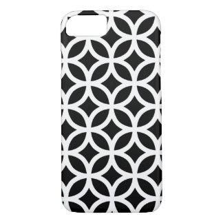 Black and White Geometric iPhone 8/7 Case