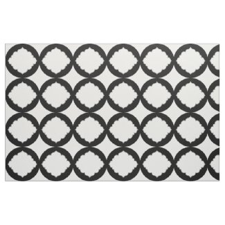 Black And White Geometric Shapes Pattern