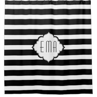Black And White Geometric Stripes
