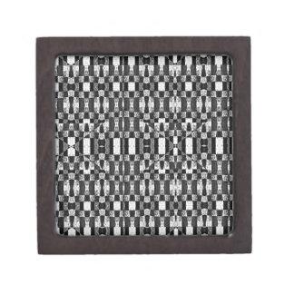Black and White Geometric Tribal Pattern| Gift Box
