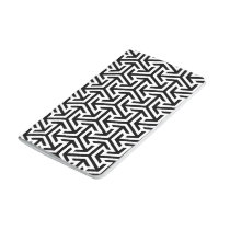 black and white geometrical modern pattern journal