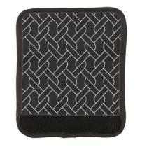 black and white geometrical pattern handle wrap
