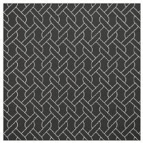 black and white geometrical pattern modern print fabric