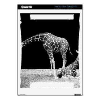 Black and White Giraffes Two Giraffes Skins For Xbox 360