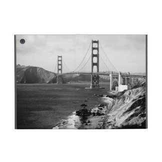Black and White Golden Gate Bridge Photo iPad Mini Covers
