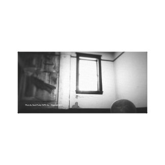 Black and White Goldfield Hotel Room Canvas Print
