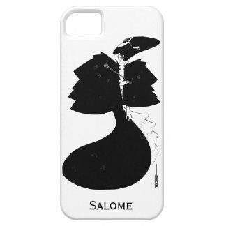 Black and white goth gothic art nouveau Salome iPhone SE/5/5s Case