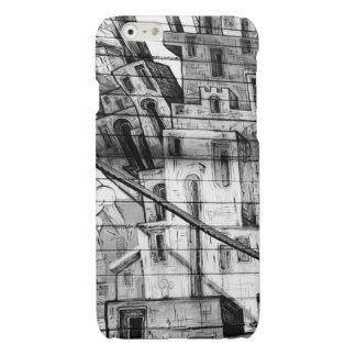 Black and White Graffiti in San Francisco Glossy iPhone 6 Case