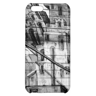 Black and White Graffiti in San Francisco iPhone 5C Cover
