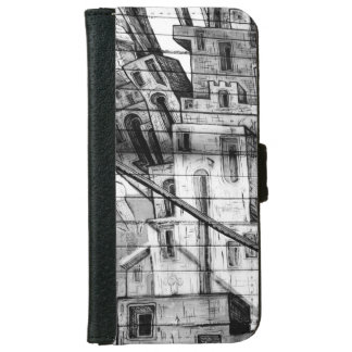 Black and White Graffiti in San Francisco iPhone 6/6s Wallet Case