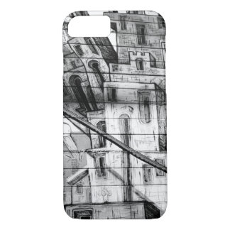 Black and White Graffiti in San Francisco iPhone 7 Case