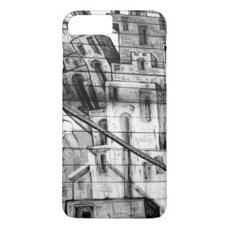 Black and White Graffiti in San Francisco iPhone 7 Plus Case