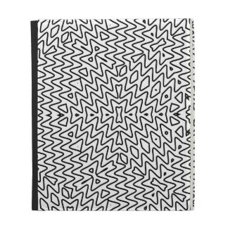 Black and white graffiti minimalism iPad folio covers
