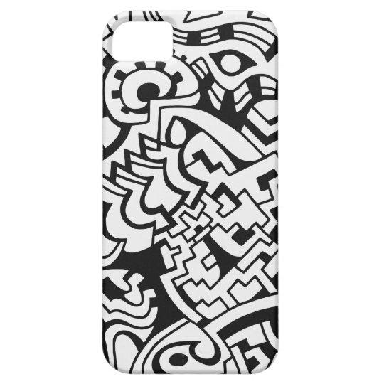 Black and white graffiti street art iPhone SE/5/5s case   Zazzle.com