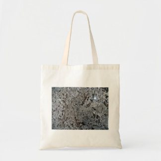 Black And White Granite Texture Bags