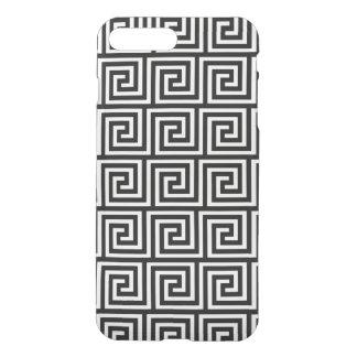Black and White Greek Key Pattern iPhone 7 Plus Case