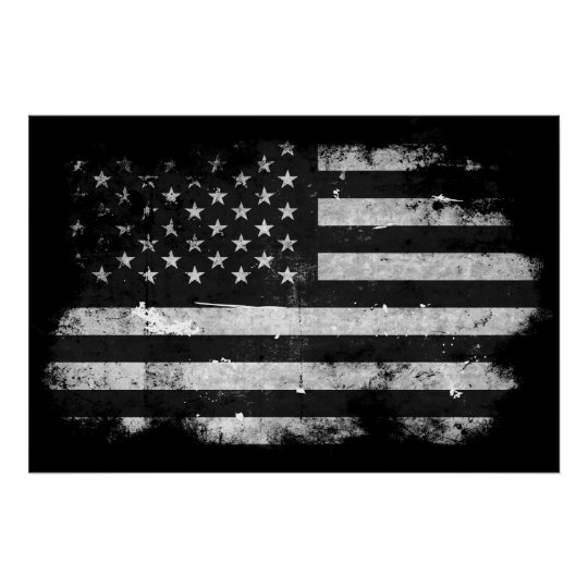 flag american grunge poster distressed posters postcard postcards zazzle designs framed